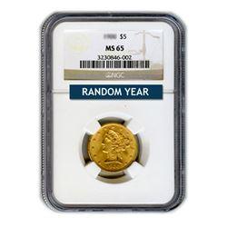 $5 Liberty MS65