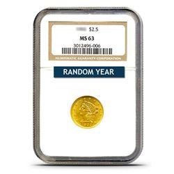 $2.50 Liberty MS63