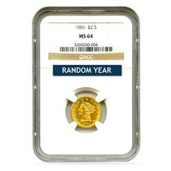 $2.50 Liberty MS64
