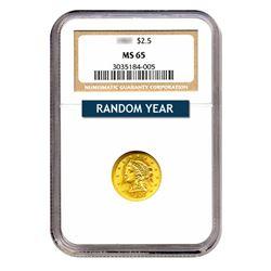 $2.50 Liberty MS65