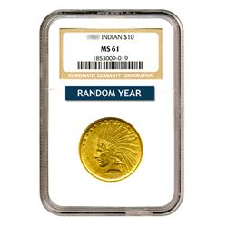 $10 Indian MS61