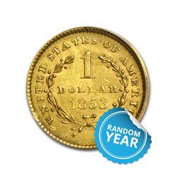 $1 Gold Type 1 UNC