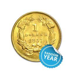 $1 Gold Type 3 UNC
