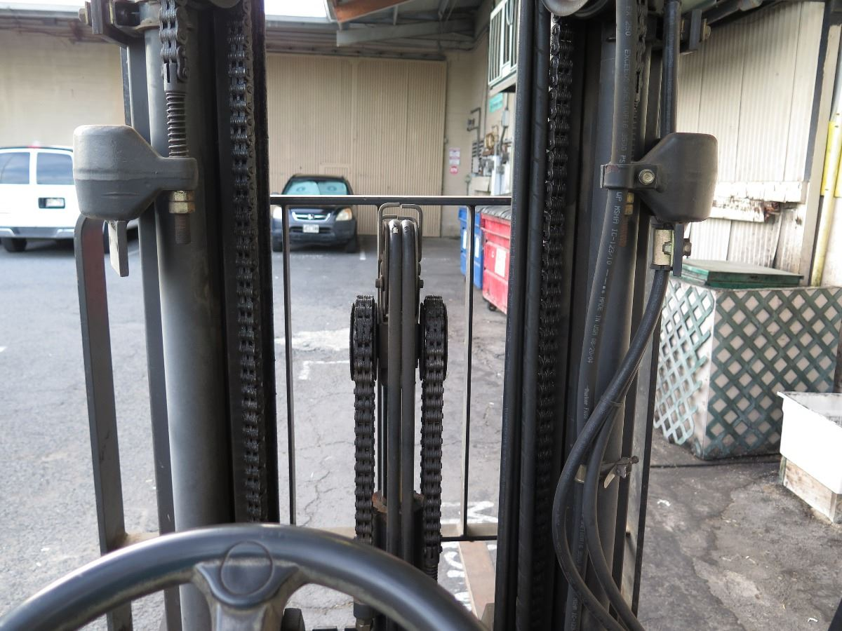 Caterpillar CAT Model C5000 Forklift 1416 Hours - Will be