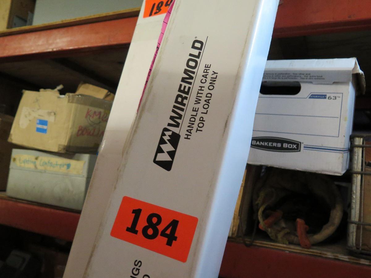2 Qty New Wiremold NP800C-10-2B Blank Aluminum Tele-Power