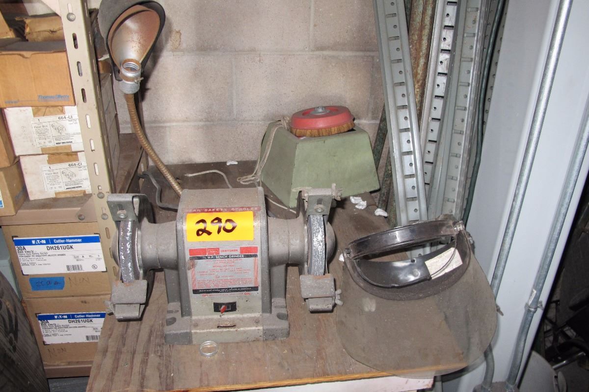 Swell Craftsman Bench Grinder 1 3 Hp Made In Usa Model 397 19391 Caraccident5 Cool Chair Designs And Ideas Caraccident5Info