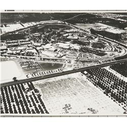 Large Disney Studio Aerial Photo of 1955 Disneyland.