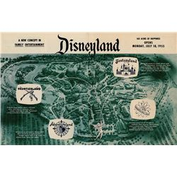 Disneyland Pre-Opening Brochure.