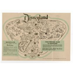 Welcome to Disneyland  Gate Fold-Out.