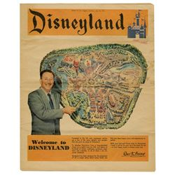 Los Angeles Examiner - Disneyland's Opening Day.
