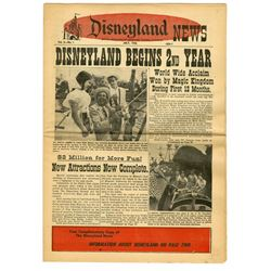 Disneyland News Vol. 2 No. 1.