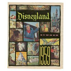 Special Edition Disneyland Paper - Summer 1959.