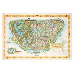 1958-B Disneyland Map.