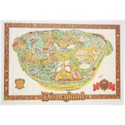 1984, 1987 and 1989 Disneyland Maps.