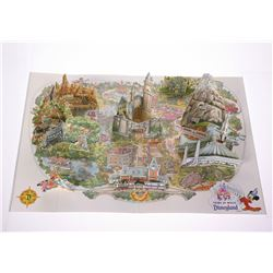 1990 Disneyland Pop-Up Map.