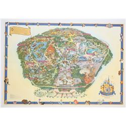 2005 Disneyland Map.