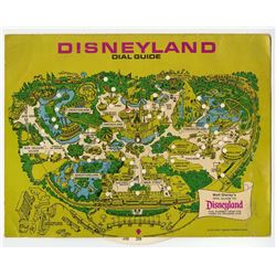 Set of (3) Disneyland Dial Guides - 1972, 1974, 1980.