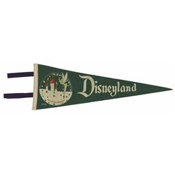 Tinker Bell & Sleeping Beauty Castle Pennant.
