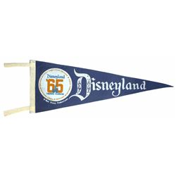 Disneyland Tencennial Celebration Pennant.