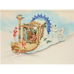 """Yukon Territory Parade"" Float Design by Wes Cook."