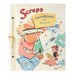 """Scraps Daydreams and Stuff"" Scrapbook and Photo Album."