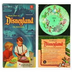 """Your Trip to Disneyland on Records"" (5) Record Set."