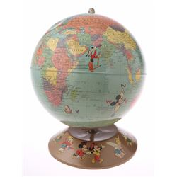 Disney Characters World Globe.