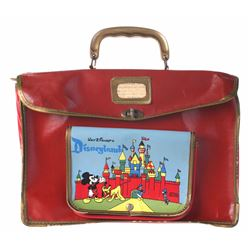 Sleeping Beauty Castle Child's Luggage Case.
