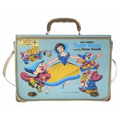 "TWA ""Snow White and the Seven Dwarfs"" Child's Luggage Case."