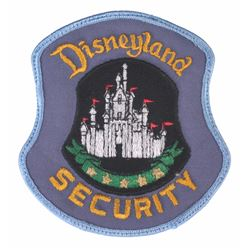 Disneyland Security Officer Uniform Jacket Patch.