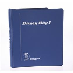 """Disney Way I"" Manual."