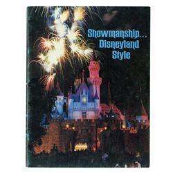 """Showmanship... Disneyland Style"" New Cast Member Book."