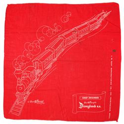Disneyland Railroad's Chief Engineer Handkerchief.