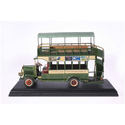 """Kevin Kidney and Jody Daily Main Street U.S.A. """"Omnibus"""" Replica."""