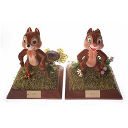 "Pair of ""Chip 'n' Dale"" Window Display Models."