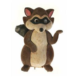 """Bambi"" Raccoon Figure from a Main Street Window Display."