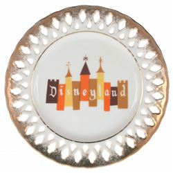 Disneyland Lace Plate.