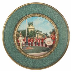 Main Street Band Decorative Wall Plate.