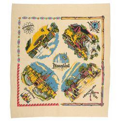 Disneyland Lands Linen Table Cloth.