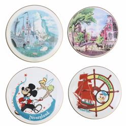 Collection of (4) Miniature Hanging Wall Plates.