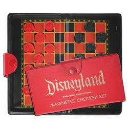 Disneyland Magnetic Checkers Set.