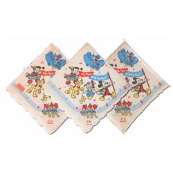 Collection of (3) Packs of Disney-Themed Birthday Napkins.