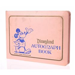Unused Disneyland Autograph Book.
