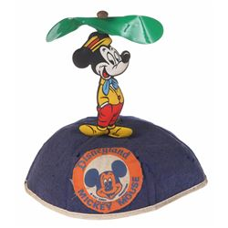 Child's Mickey Mouse Propeller Beanie.