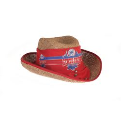 """State Fair Disneyland"" Straw Hat."