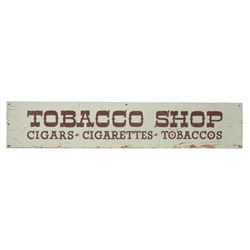 Disneyland Main Street Tobacco Shop Sign.