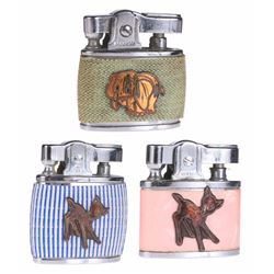 Collection of (3) Disney Character Lighters.