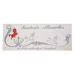 """Fantasia Allumettes"" Set of Match Boxes."