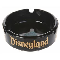 Disneyland Attractions Souvenir Ashtray.