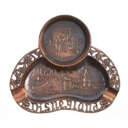 Copper Disneyland Ashtray.